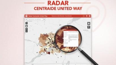 Centraide du Grand Montréal lance le Radar